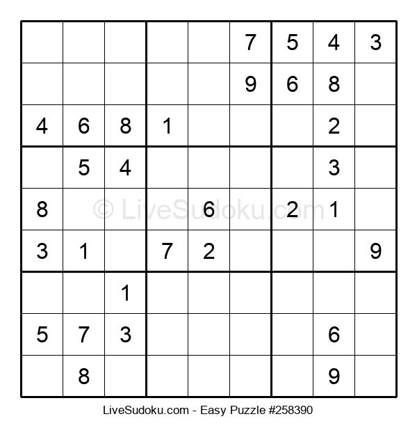 Beginners Puzzle #258390