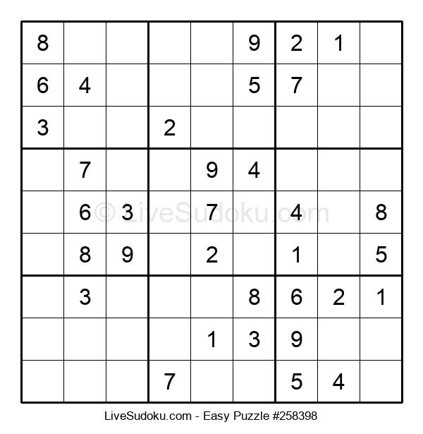 Beginners Puzzle #258398