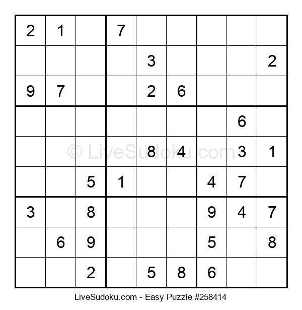 Beginners Puzzle #258414
