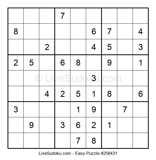 Beginners Puzzle #258431