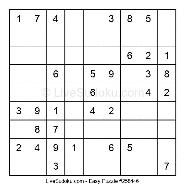 Beginners Puzzle #258446