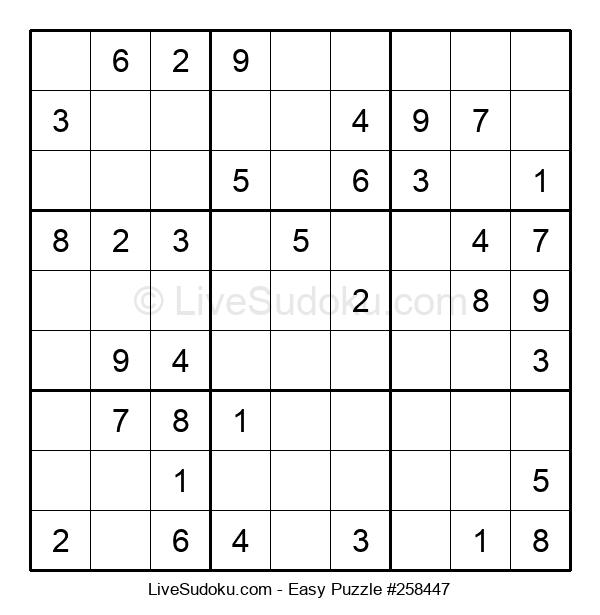 Beginners Puzzle #258447