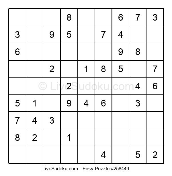 Beginners Puzzle #258449