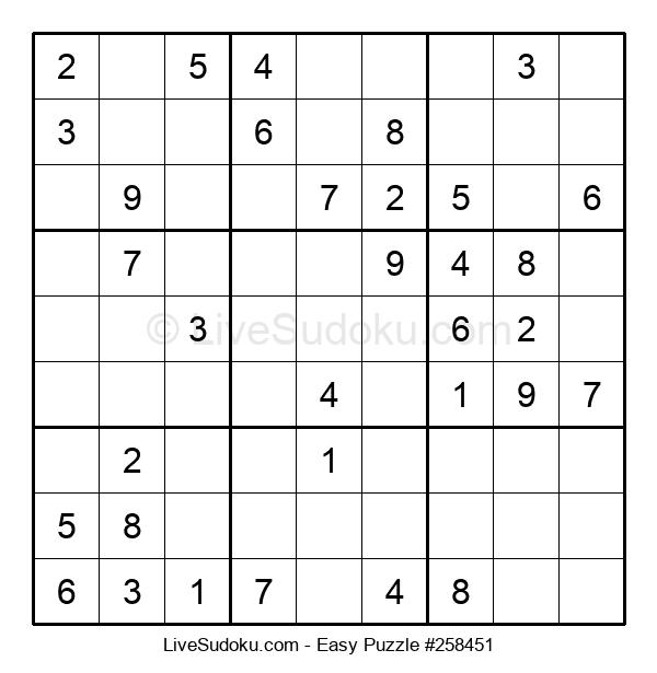 Beginners Puzzle #258451