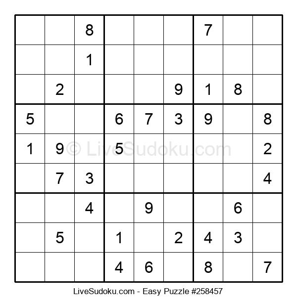 Beginners Puzzle #258457
