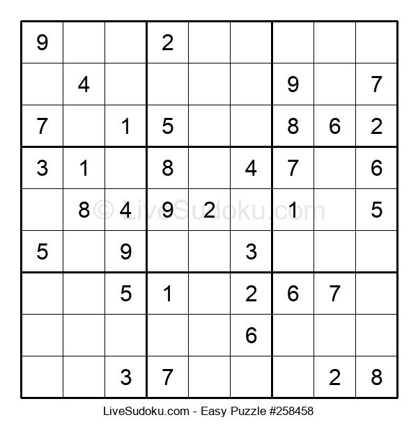 Beginners Puzzle #258458