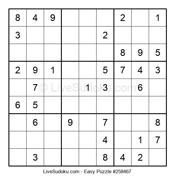 Beginners Puzzle #258467