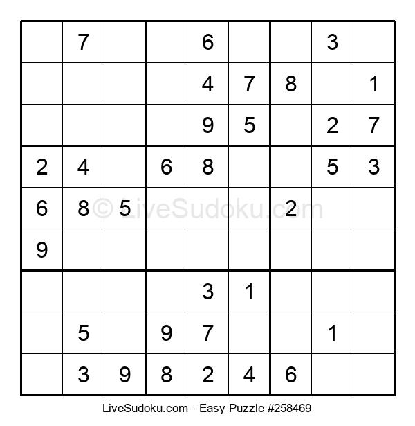 Beginners Puzzle #258469
