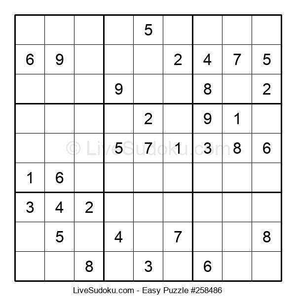Beginners Puzzle #258486