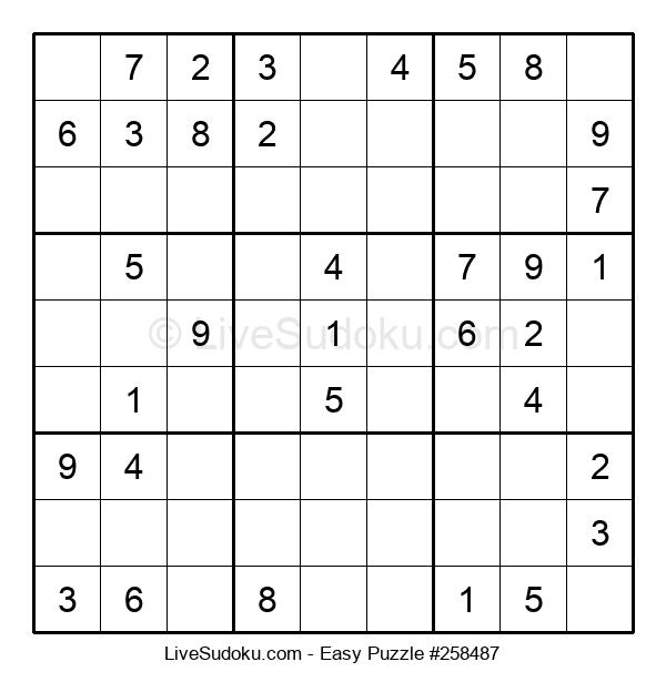 Beginners Puzzle #258487