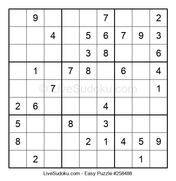 Beginners Puzzle #258488