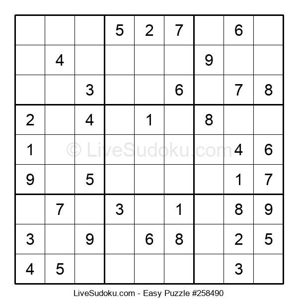 Beginners Puzzle #258490