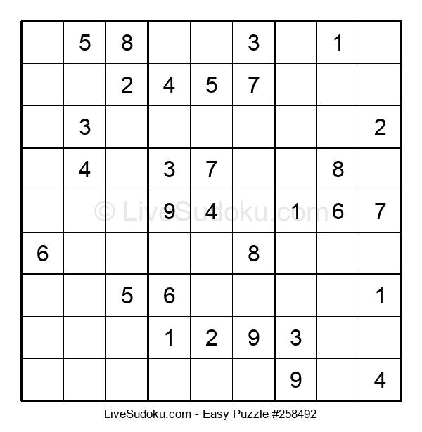 Beginners Puzzle #258492