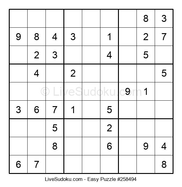 Beginners Puzzle #258494