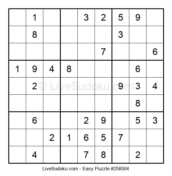 Beginners Puzzle #258504