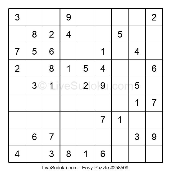 Beginners Puzzle #258509