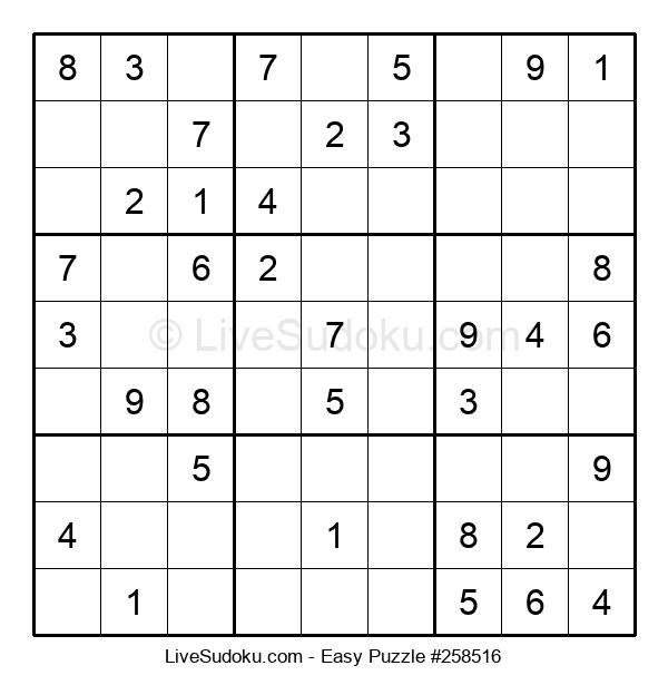 Beginners Puzzle #258516