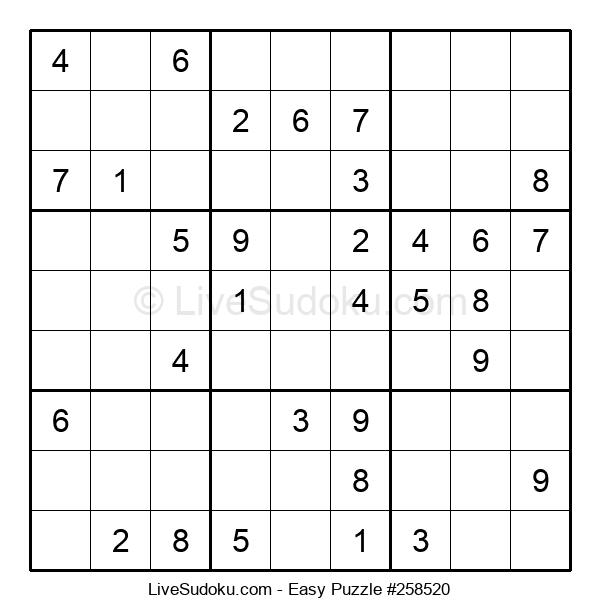 Beginners Puzzle #258520