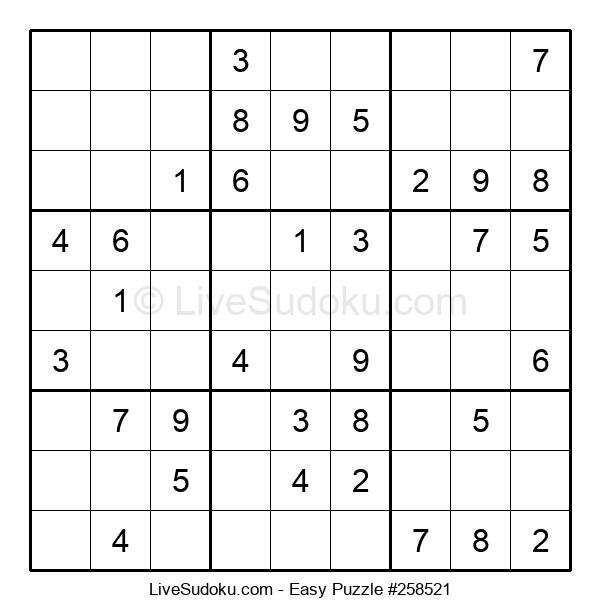 Beginners Puzzle #258521