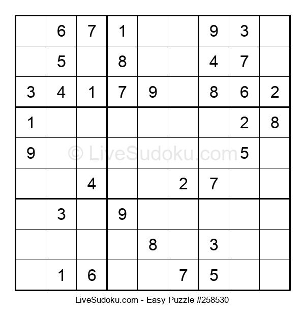 Beginners Puzzle #258530