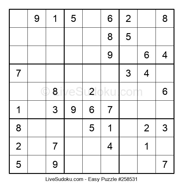 Beginners Puzzle #258531