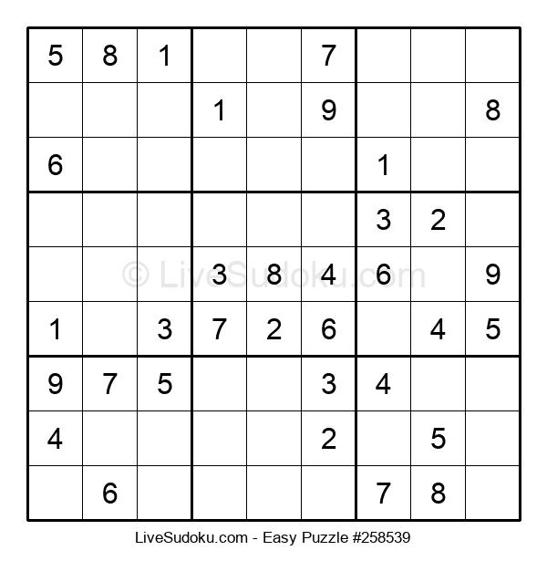 Beginners Puzzle #258539