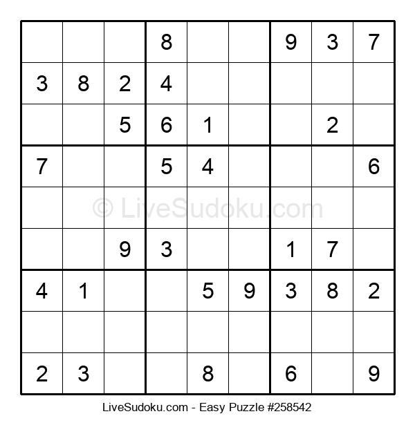 Beginners Puzzle #258542