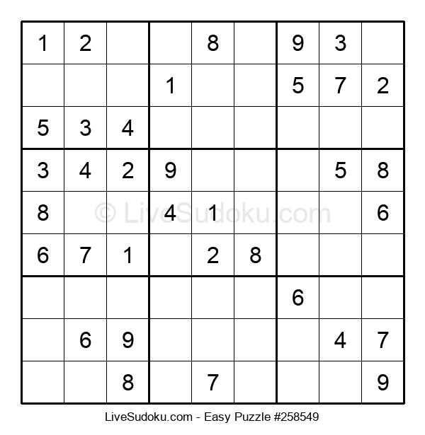 Beginners Puzzle #258549