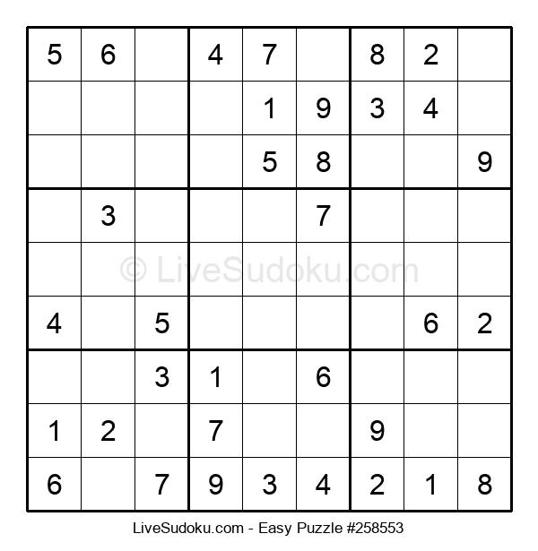 Beginners Puzzle #258553