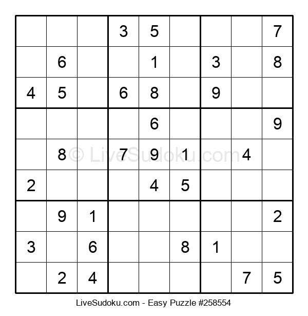 Beginners Puzzle #258554