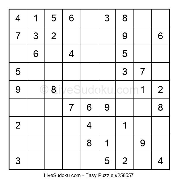 Beginners Puzzle #258557