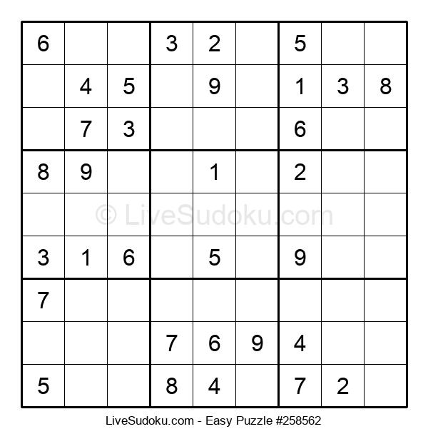 Beginners Puzzle #258562