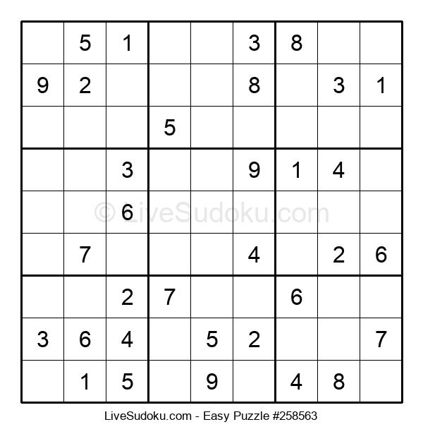 Beginners Puzzle #258563