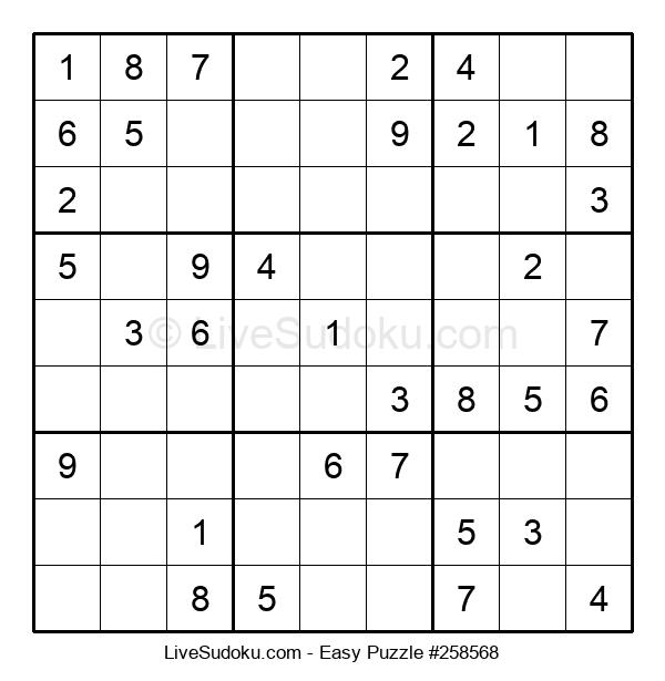 Beginners Puzzle #258568