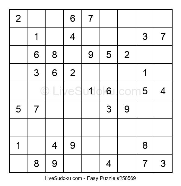 Beginners Puzzle #258569