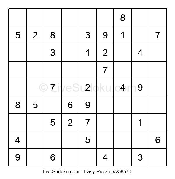 Beginners Puzzle #258570
