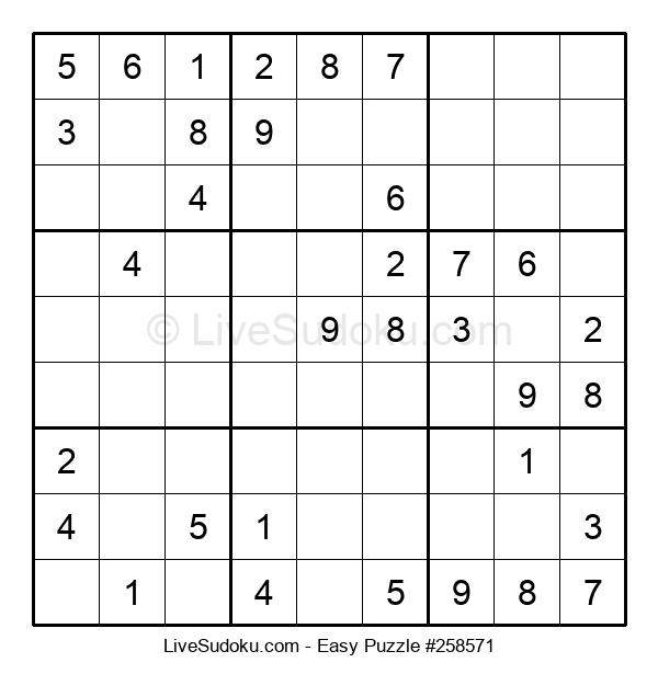 Beginners Puzzle #258571