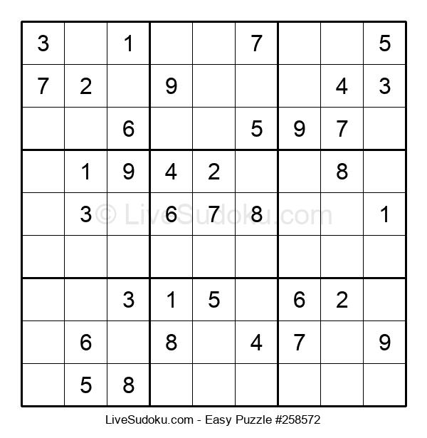 Beginners Puzzle #258572