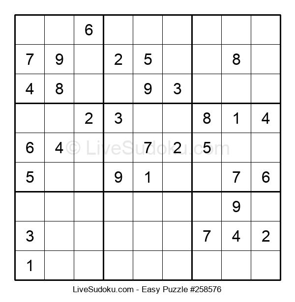 Beginners Puzzle #258576