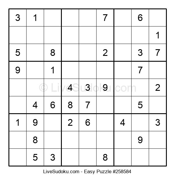 Beginners Puzzle #258584