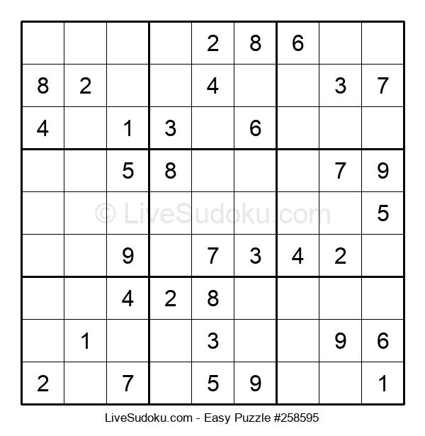 Beginners Puzzle #258595