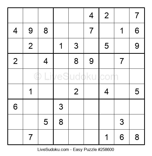 Beginners Puzzle #258600