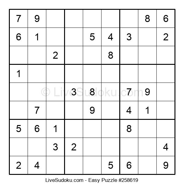 Beginners Puzzle #258619