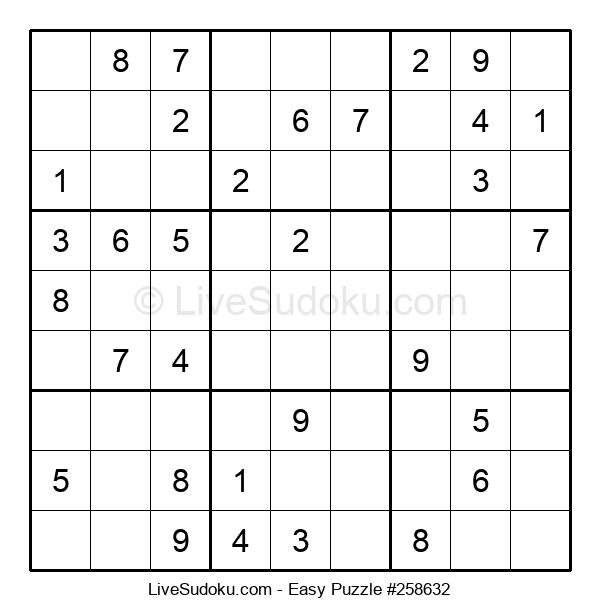 Beginners Puzzle #258632