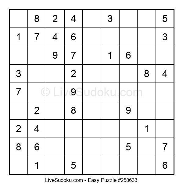 Beginners Puzzle #258633