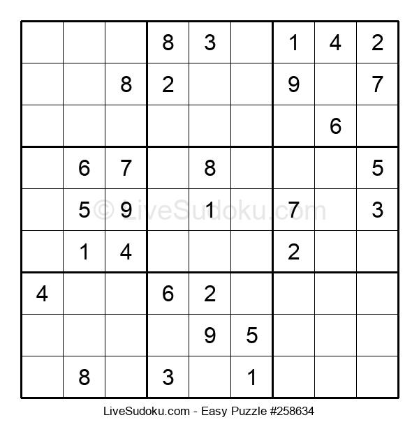 Beginners Puzzle #258634