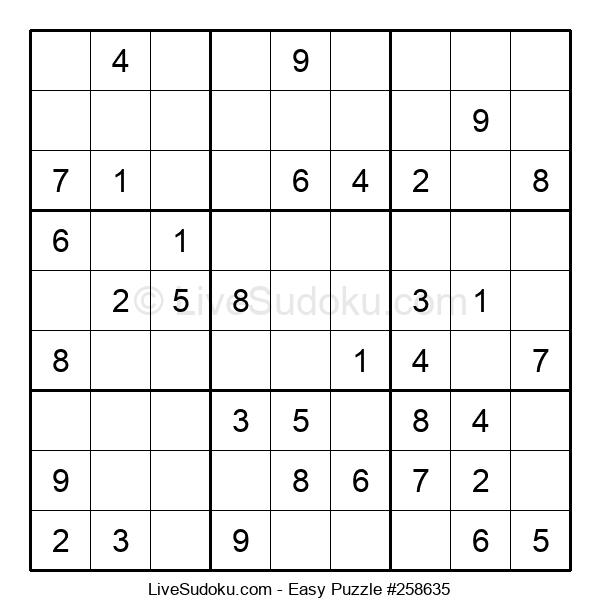 Beginners Puzzle #258635