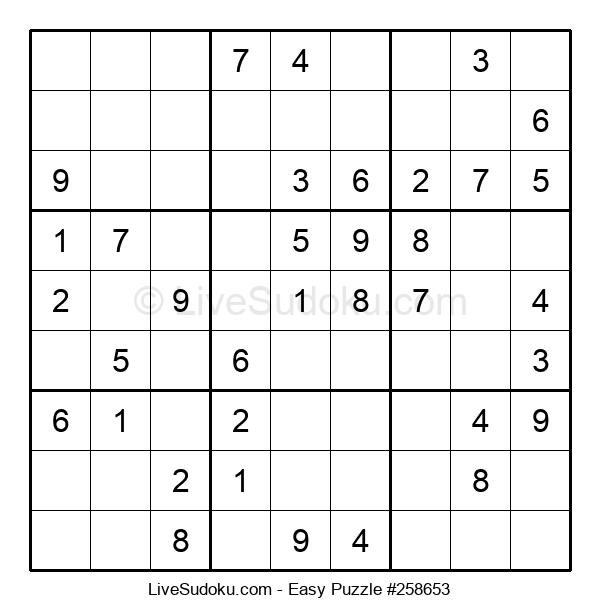 Beginners Puzzle #258653