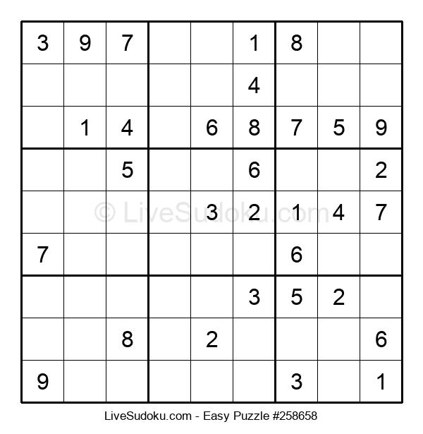 Beginners Puzzle #258658