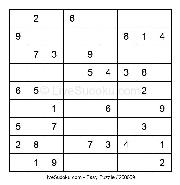 Beginners Puzzle #258659
